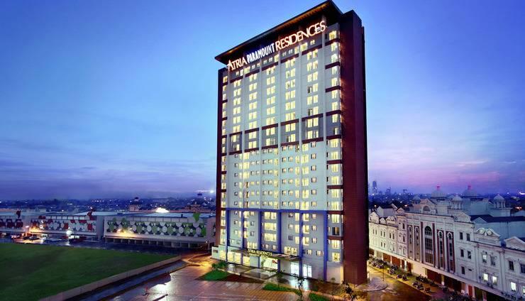 Hotel Atria Serpong - Bangunan hotel