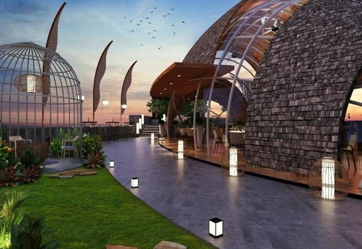 PRAMAPADA Hotel Jimbaran Bali - Eksterior