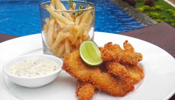 Tropico Jimbaran Bali Bali - Fish and Chips