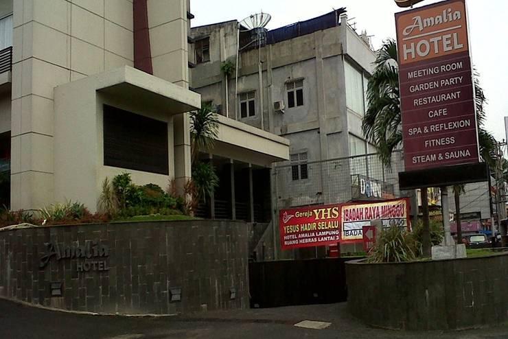 Hotel Amalia  Lampung - Tampilan Luar Hotel