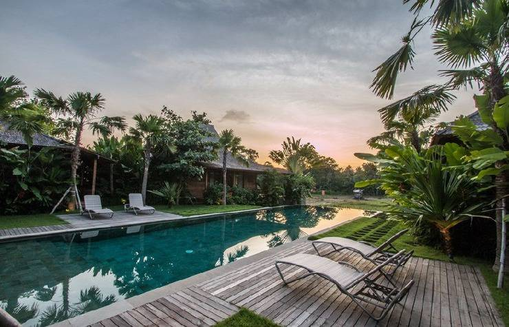 Marika Sawah Villa Bali - Kolam Renang