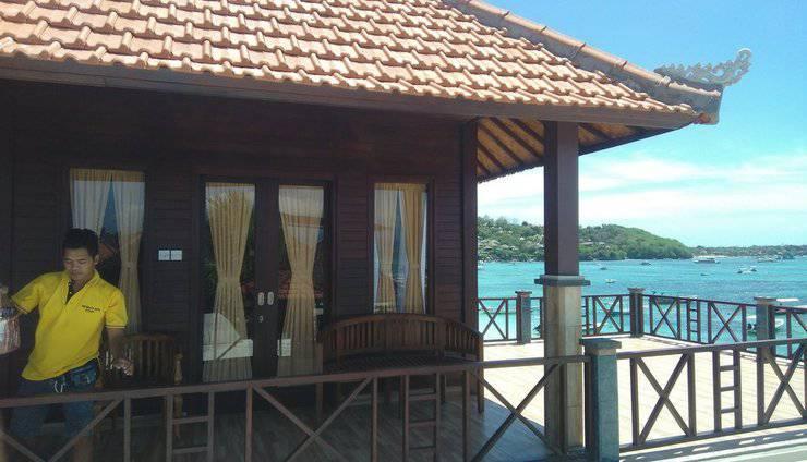 The Beach Huts Lembongan - KAMAR ATAS VIEW LAUT