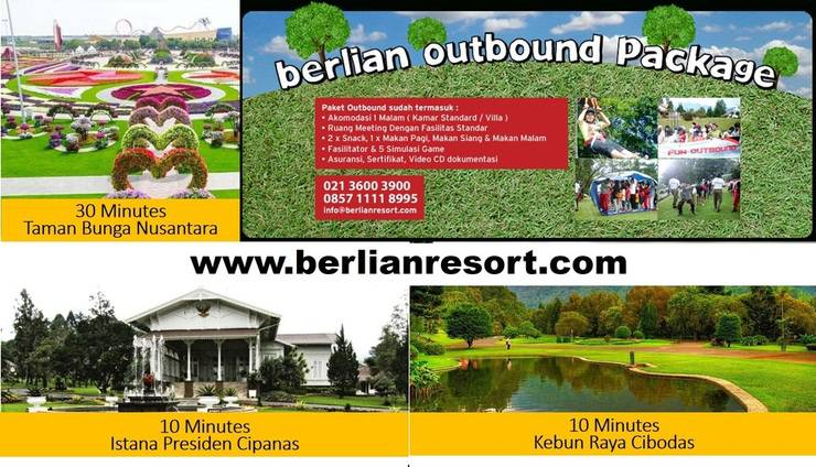 Berlian Resort Bogor - Package Outbond
