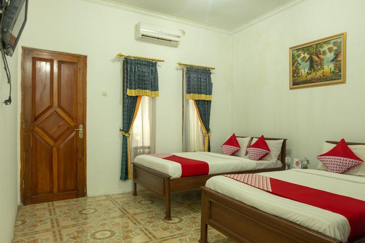OYO 609 MS Hotel Pangandaran Pangandaran - standard twin bedroom