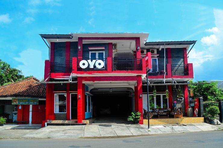 OYO 609 MS Hotel Pangandaran Pangandaran - Facade
