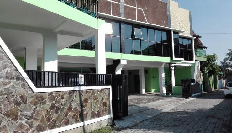 The Green House Yogyakarta - tampak depan