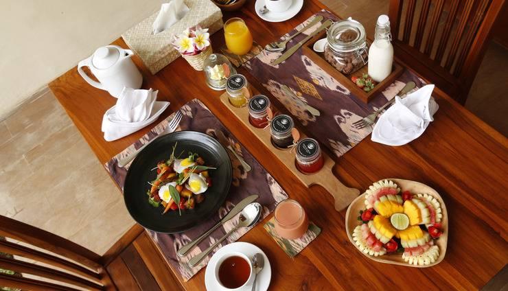 Ashoka Tree Resort at Tanggayuda Bali - Breakfast