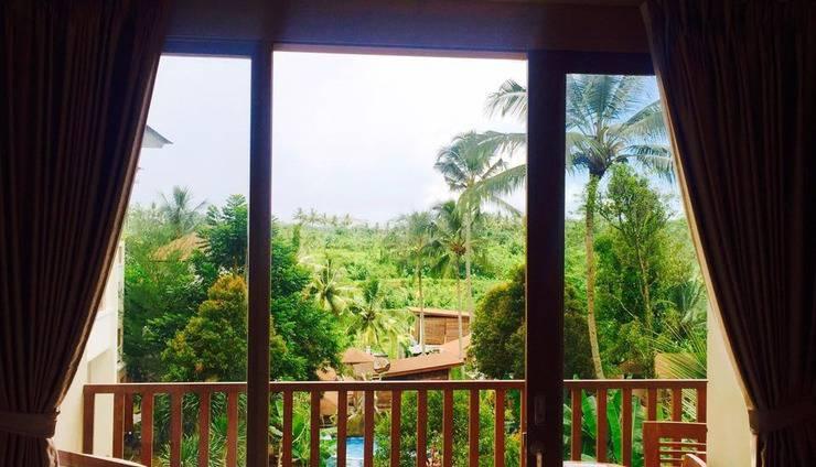 Ashoka Tree Resort at Tanggayuda Bali - Balcony