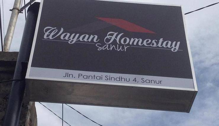 Wayan Homestay Sawur Bali - pemandangan