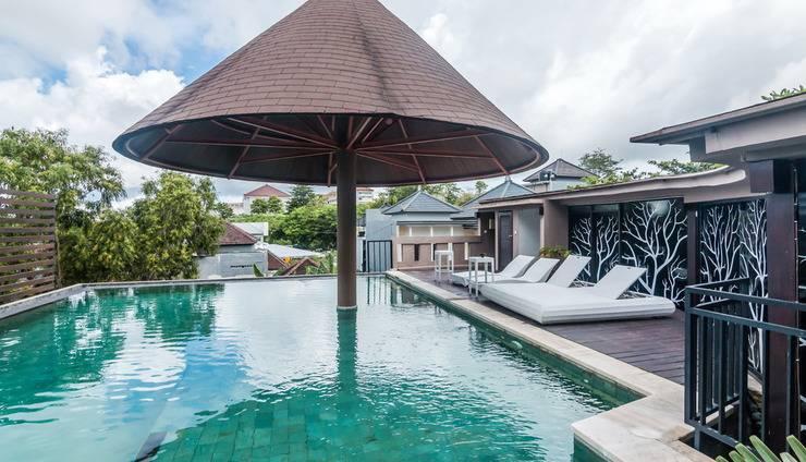 ZenRooms Jimbaran Udayana Bali - Kolam Renang