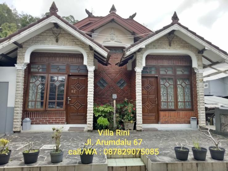 Villa Rini Malang - Depan