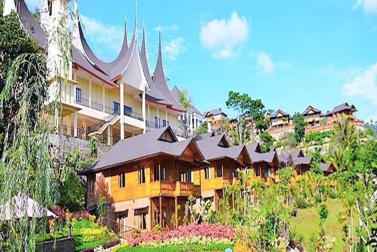Jambuluwuk Batu - Tampilan Luar Hotel