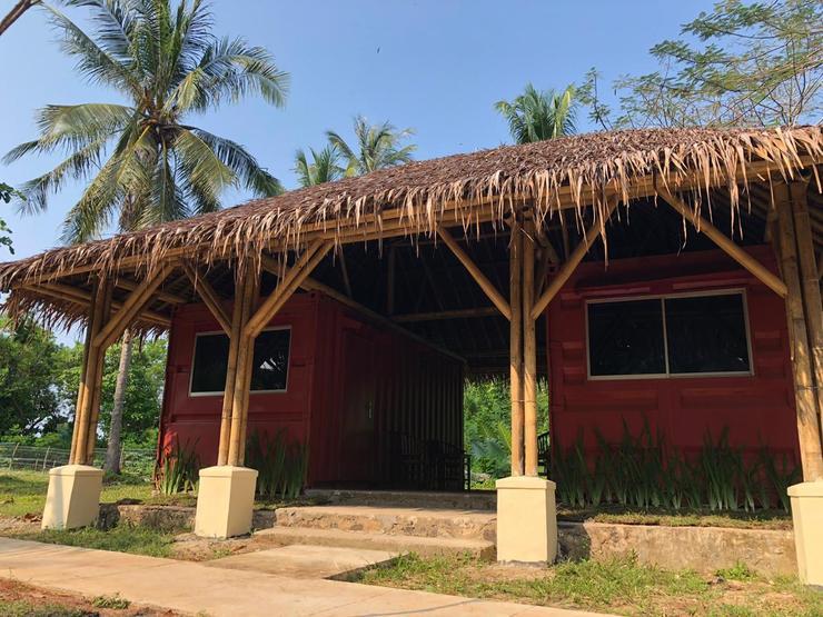 Green Coral Beach Camping Ground Tanjung Lesung Pandeglang - Tampak Depan
