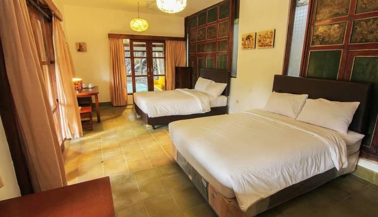 Khayangan Resort Yogyakarta - Tempat Tidur Family