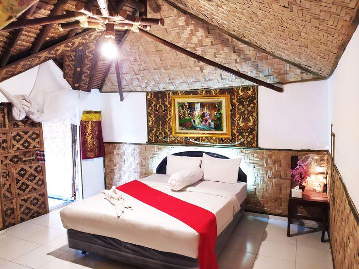 Etnik Bali Villa and Resto Kubu Selem Bandar Lampung - Bedroom