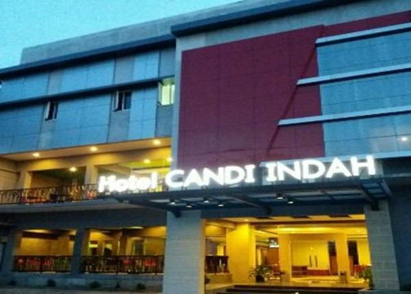 Hotel Candi Indah Semarang - AREA DEPAN HOTEL