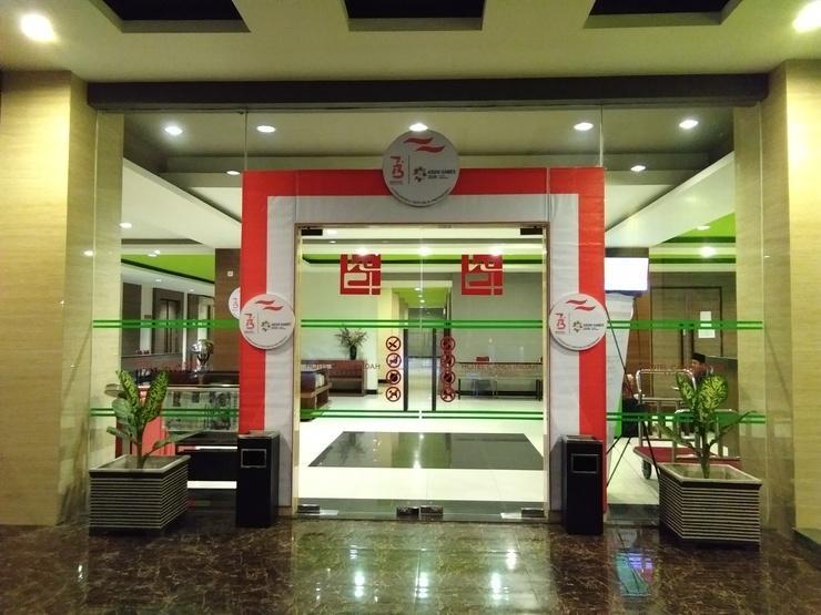 Hotel Candi Indah Semarang - Pintu masuk