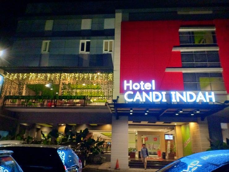Hotel Candi Indah-AKPOL Semarang Semarang - Gedung Depan