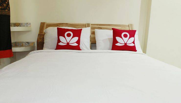 ZEN Rooms Cassa Dua Pasteur Bandung - tempat tidur