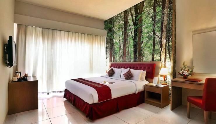 Kuta Central Park Hotel Bali - Kamar