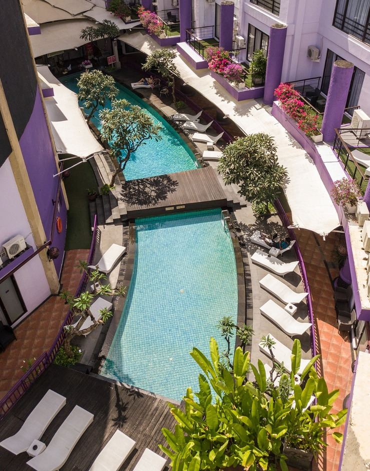 Kuta Central Park Hotel Bali - display