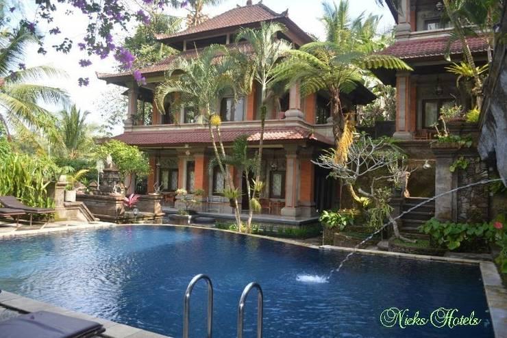 Nick's Hidden Cottages Ubud - Kolam Renang