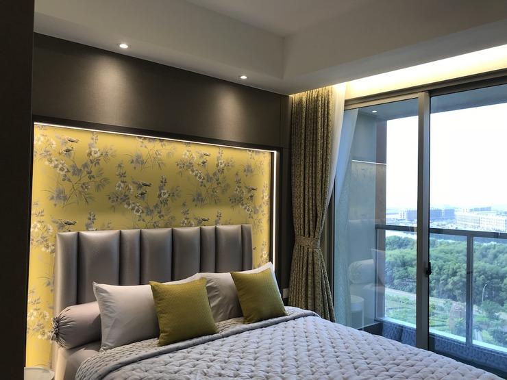 Gold Coast PIK Bahama Sea View Serviced Apartments Jakarta - Premium Bed