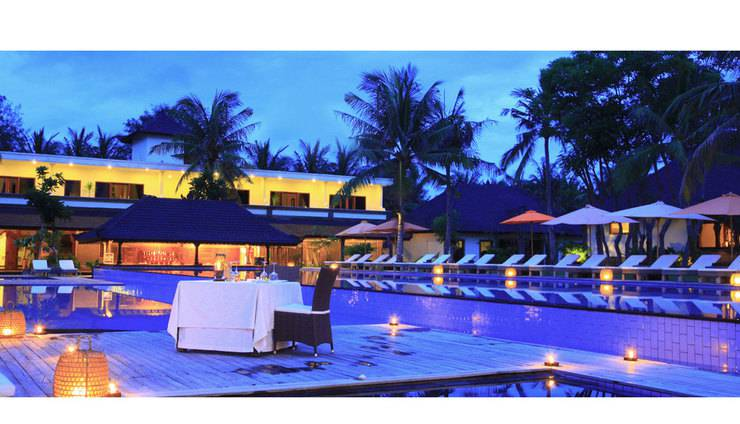 Hotel Ombak Sunset Lombok - Kolam Renang