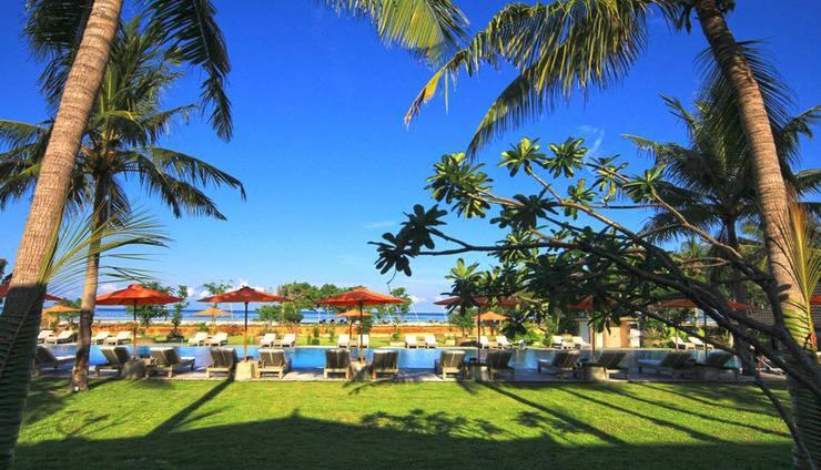 Hotel Ombak Sunset Lombok - pool view