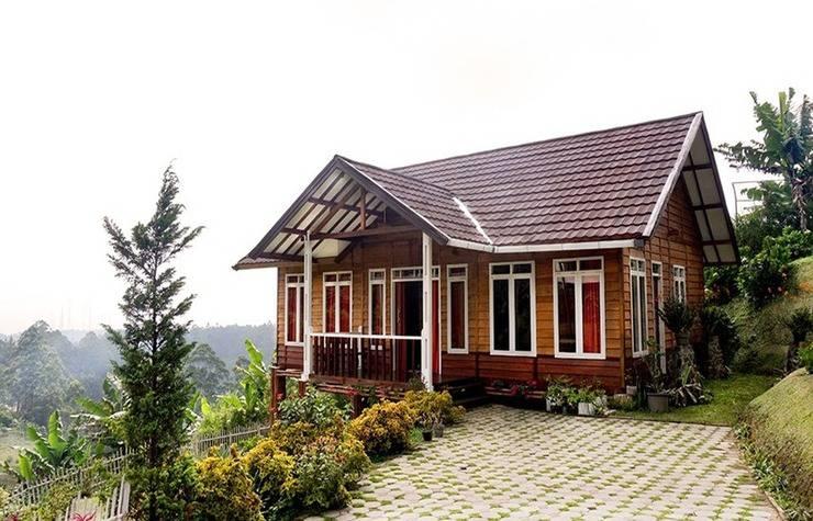 Villa Wood Istana Bunga - Lembang Bandung Bandung - Eksterior