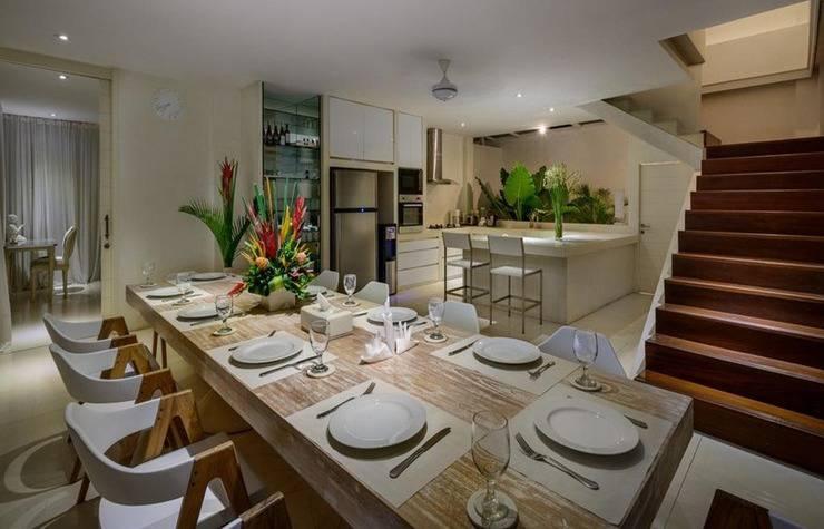 Villa Deva Bali - Ruang makan