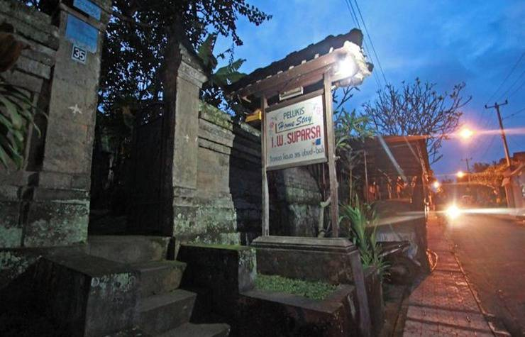 Suparsa's Home Stay Bali - Eksterior