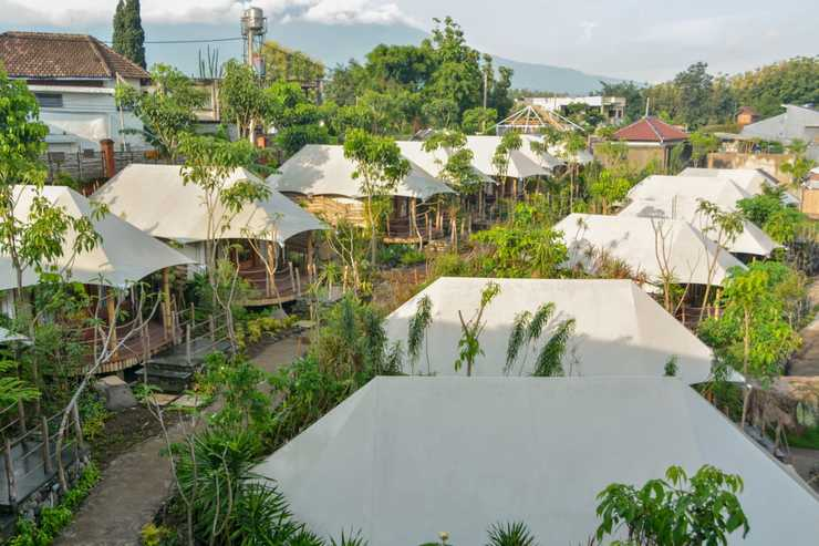 Oak Tree Glamping Resort Malang - View