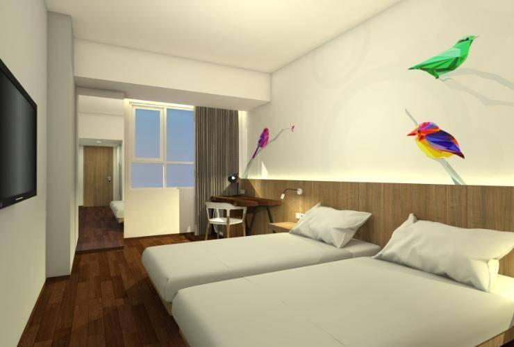The Zuri Palembang Palembang - Bedroom