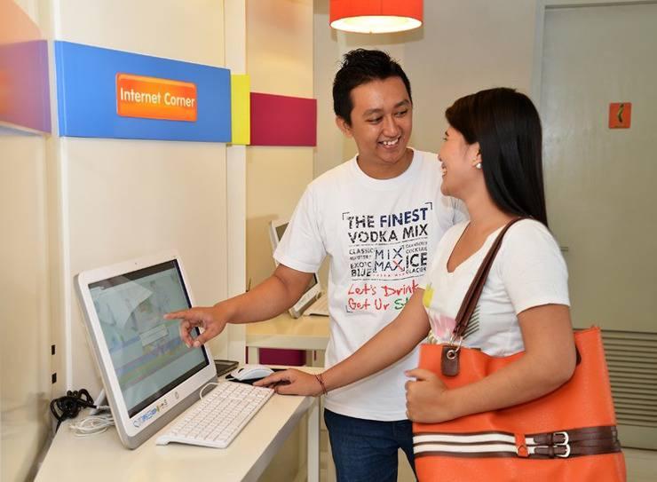 POP! Hotel Nusa Dua - Internet Corner