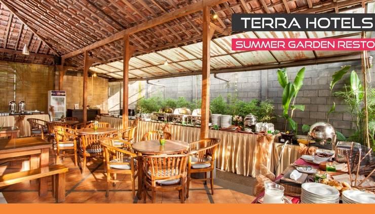 Summer Hill Private Villas & Family Hotel Bandung - Summer Garden Resto