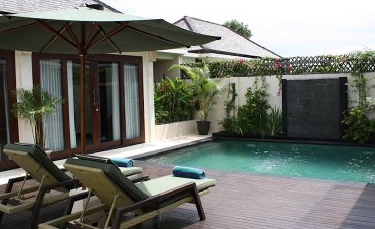 The Seri Villas Seminyak Bali - Kolam Renang