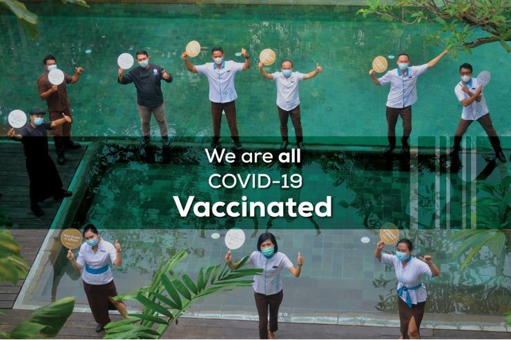 THE 1O1 Bali Fontana Seminyak Bali - Staff Vaksin