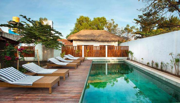 Blu d'aMare Resort Gili Trawangan Lombok -