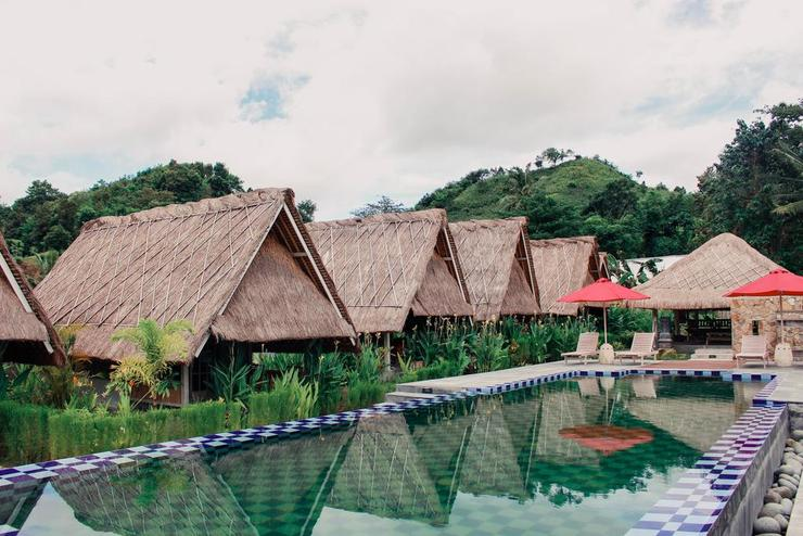 The Gazebo Bungalow and Restaurant Lombok - Exterior