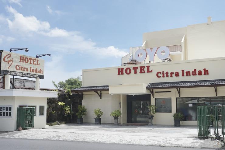 OYO 561 Hotel Citra Indah Near RS Ludira Husada Tama Yogyakarta - Facade