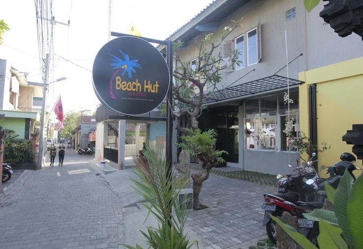 Beach Hut Hostel Bali - Exterior