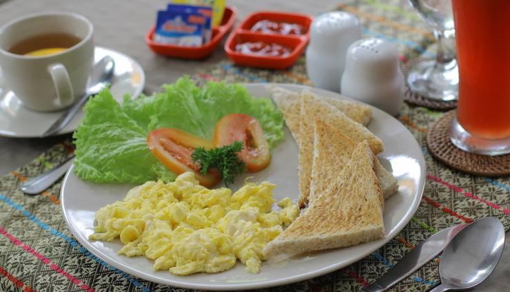 Uma Sari Cottage Bali - Meal