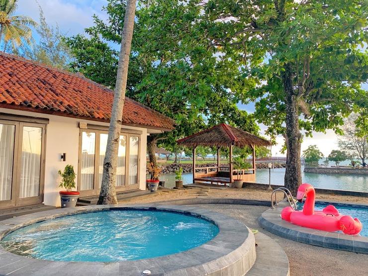 Bintang Laut Resort Pandeglang - pemandangan