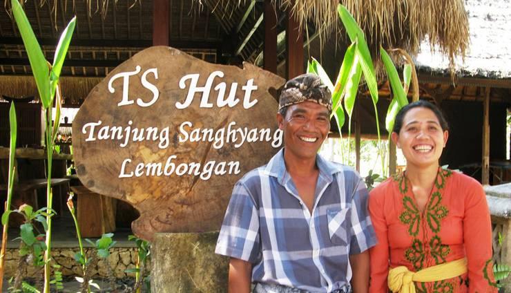 TS Hut Lembongan Bali - Eksterior