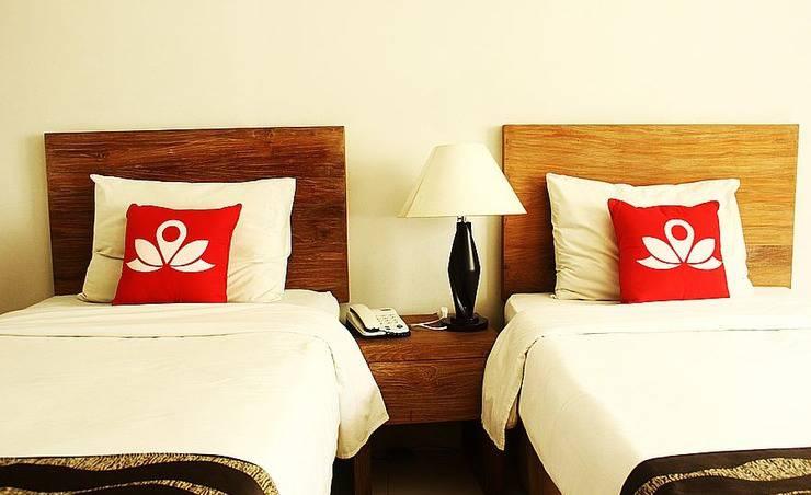 ZenRooms Sukajadi Sindang Sirna - Tampak tempat tidur twin