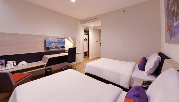FOX HARRIS Hotel Pekanbaru - Twin Room
