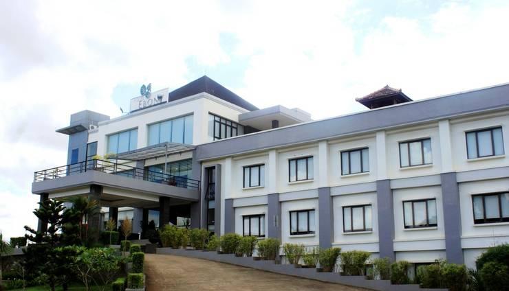 Hotel Ebony Batulicin Tanah Bumbu - Pintu Masuk Hotel