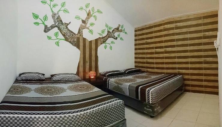 Otu Hostel By Ostic House Yogyakarta - Bedroom