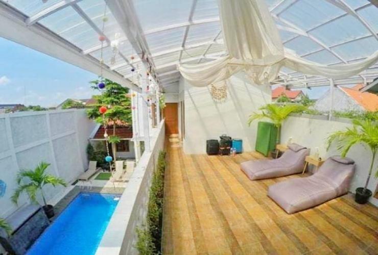 Otu Hostel By Ostic House Yogyakarta - rooftop